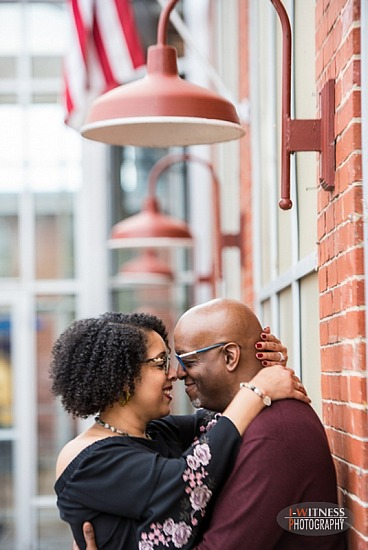 Engagement Session | Historic Savage Mills, Maryland